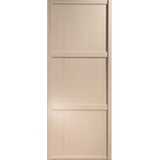 "Shaker Sliding Wardrobe Door 914mm (36"") Maple Panel Door"
